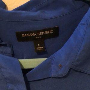 Banana Republic Tops - Banana Republic silk blouse. Size L